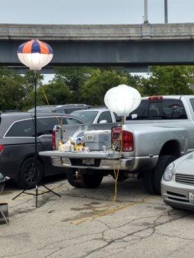 portable balloon lights
